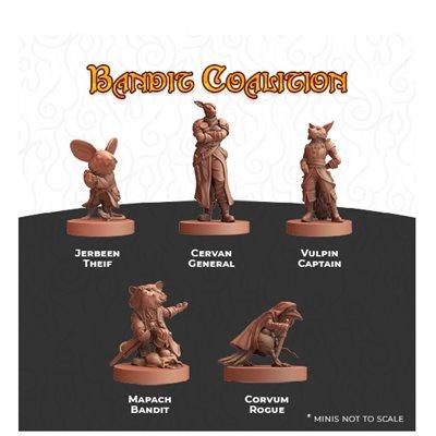 Humblewood Minis: Bandit Coalition (No Amazon Sales)