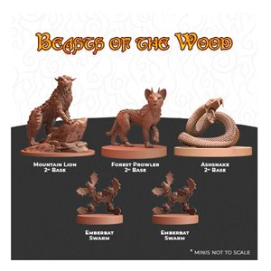 Humblewood Minis: Beasts of the Wood (No Amazon Sales)