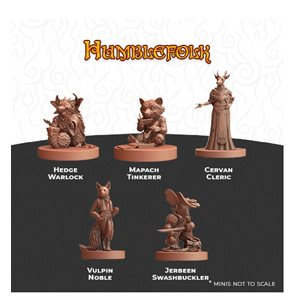 Humblewood Minis: Humblefolk (No Amazon Sales)