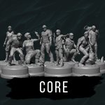 Sub Terra: Core Miniatures