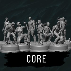 Sub Terra: Core Miniatures