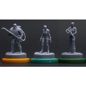 Sub Terra: Expansion Miniatures
