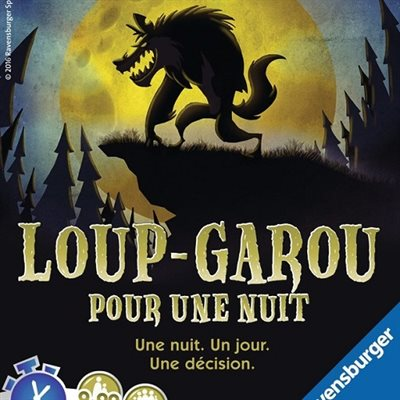 Loup-Garou pour une Nuit (No Amazon Sales)