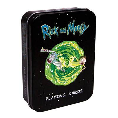 Playing Cards: Rick and Morty™ (Tin) (No Amazon Sales)