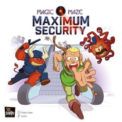 Magic Maze: Maximum Security Expansion