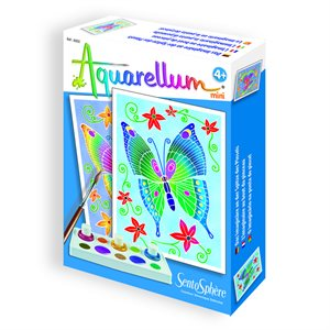 Aquarellum: Magic Canvas Mini Butterflies (Multi) (No Amazon Sales)