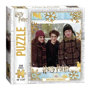 "Puzzle (550 pc): Harry Potter™ ""Christmas at Hogwarts"" (No Amazon Sales)"