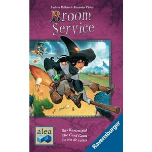 Broom Service The Card Game (No Amazon Sales)