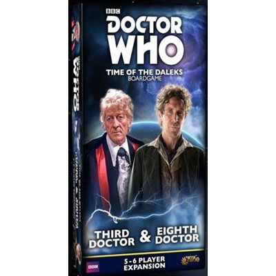 Doctor Who Time Of The Daleks: 5-6 Player Exp: 3rd & 13th Doctor (plus. 8th Doctor) ^ AUG 2020