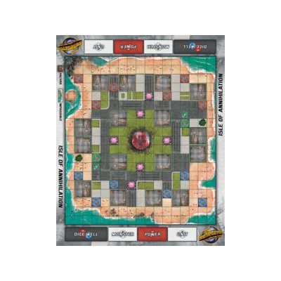 Monsterpocalypse: Isle of Annihilation Playmat