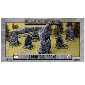 Battlefield in a Box: Sacrificial Rocks 6pc
