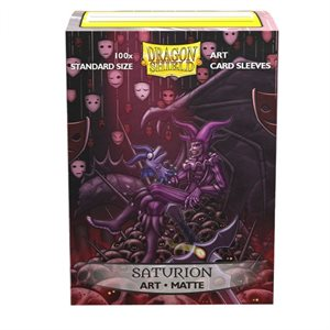 Sleeves: Dragon Shield Limited Edition Matte Art: Saturion Portrait (100) ^ JAN 2019