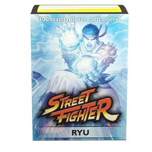 Sleeves: Dragon Shield Limited Edition Art Classic: Street Fighter Ryu