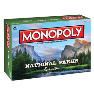 Monopoly: National Parks (No Amazon Sales)