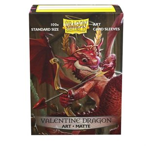 Sleeves: Dragon Shield Limited Edition Matte Art: Valentine Dragon (100) ^ JAN 2020