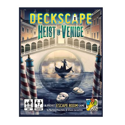Deckscape: Heist in Venice (No Amazon Sales)