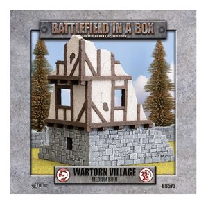 Battlefield in a Box: Wartorn Village Medium Ruin