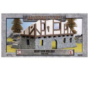 Battlefield in a Box: Wartorn Village Large Ruin
