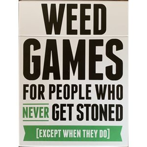 Weed Games: For People Who Never Get Stoned (Except When They Do) ^ MAR 2021