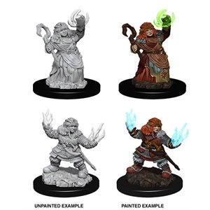 Pathfinder Battles Deep Cuts Unpainted Miniatures: Wave 7: Female Dwarf Summoner