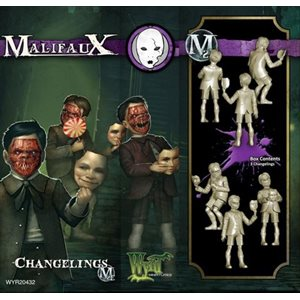 Malifaux 2nd Ed: Neverborn: Changelings (3) (Updated to M3E)