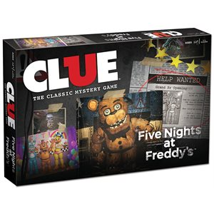 Clue: Five Nights at Freddy's (No Amazon Sales)