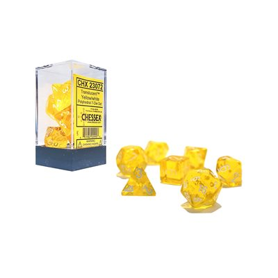 Translucent: 7pc Yellow / White